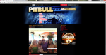 Pitbull's website
